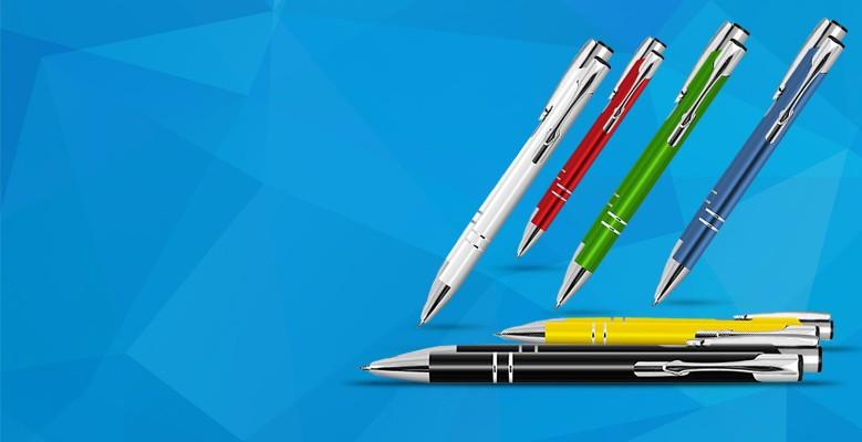 Długopisy z grawerem, nadrukiem